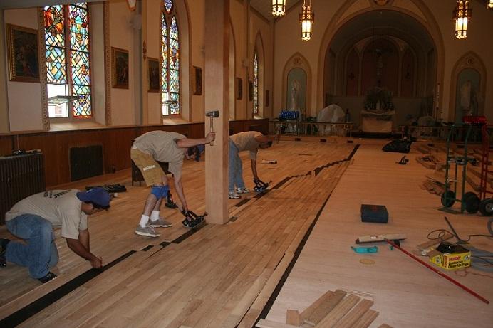 Hardwood Floor Installation Wc Floors